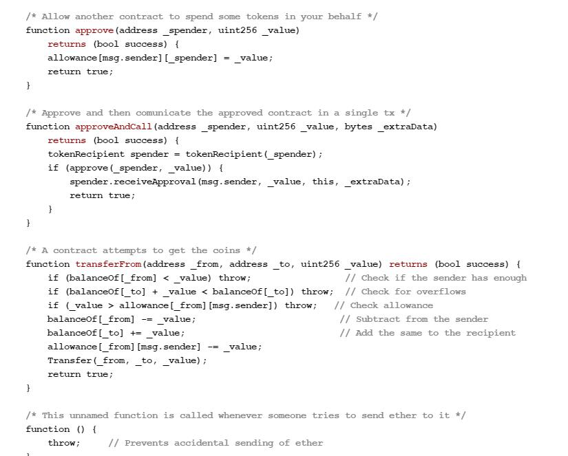 نمونه کد قرارداد هوشمند اتریوم