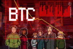 قیمت بیت کوین(Bitcoin) به دلیل هراس ناشی از کروناویروس طی یک ساعت 17 درصد سقوط کرد و به کمتر از 6 هزار دلار رسید