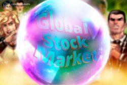 بازار جهانی سهام در «محدوده حباب» و عدم نگرانی معامله گران بیت کوین (Bitcoin)