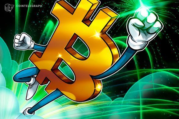 ثبت اولین کندل ماهانه بیت کوین (Bitcoin) بالاتر از 13000 دلار از سال 2017