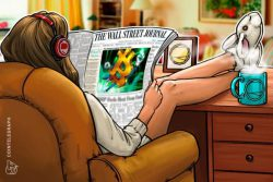 بیت کوین (Bitcoin) در صفحه اول روزنامه وال استریت ژورنال