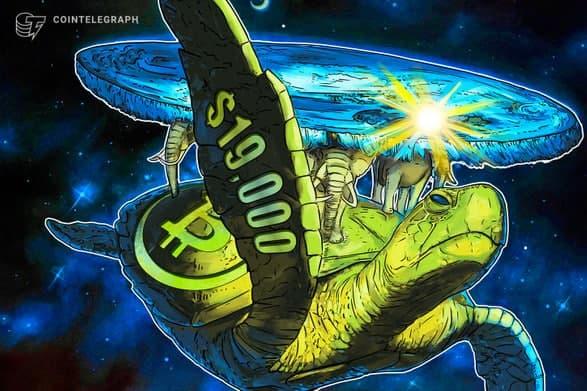 قیمت بیت کوین (Bitcoin) برای اولین بار طی 3 سال گذشته به 19000 دلار رسید