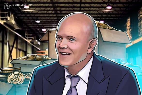 مایک نووگراتز 50 درصد از دارایی خود را در ارزهای دیجیتال سرمایه گذاری کرده و به سرمایه گذاران توصیه می کند 5 درصد از دارایی خود را به این بخش اختصاص دهند