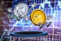 صعود لایت کوین (Litecoin) ، دوج کوین (Dogecoin) و آلت کوین های برتر همزمان با افزایش قیمت بیت کوین (Bitcoin) به 23.800 دلار