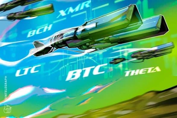 روند قیمت بیت کوین (BTC) ، لایت کوین (LTC) ، بیت کوین کش (BCH) و مونرو (XMR) در این هفته