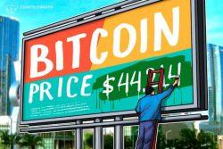 بر اساس فعالیت گروهی نهنگ ها ، 44،214 دلار کلیدی ترین سطح قیمت بیت کوین (Bitcoin) در کوتاه مدت است