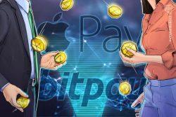 اپل پی با همکاری بیت پی امکان پرداخت با ارز دیجیتال را برای 380 میلیون کاربر خود فراهم می کند