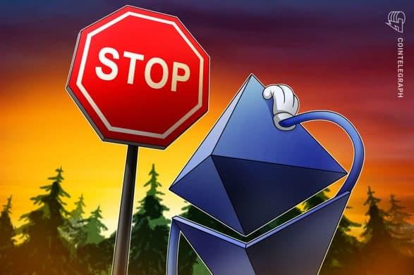 تعلیق موقت برداشت اتریوم (Ethereum) و توکن های (ERC-20) از بایننس