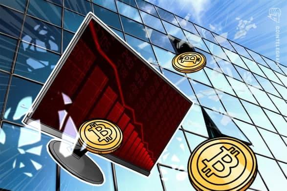اصلاح قیمت بیت کوین تا سطح 45.000 دلاری ادامه یافت