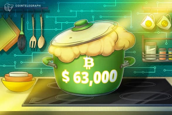 بیت کوین (Bitcoin) به رکورد تاریخی جدیدی بالاتر از 63000 دلار دست یافت؛ پیش بینی معامله گران چیست