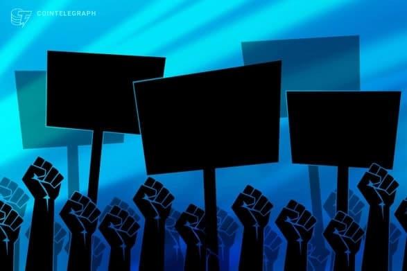 مردم السالوادور در اعتراض به قانون پذیرش بیت کوین (Bitcoin) به خیابان ها آمدند