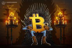 پنتوشی ، تحلیلگر : باوجود افت قیمت به 44000 دلار ، بیت کوین به همه یادآوری خواهد کرد پادشاه کیست